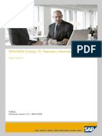 Srm Mdm Cat Repository Info