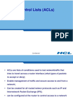 Module 1_Day 2_Access Control Lists (ACLs)