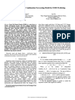 A New Multi-method Combination Forecasting Model for ESDD Predicting