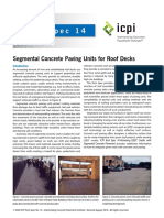 segmental concrete paving