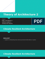 Climate Resilient Architecture