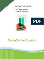 Green solvents pres
