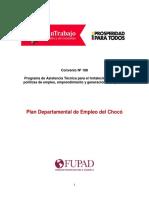Plan de Empleo de Chocó