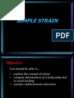 Lesson 4 - Simple Strain