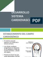 Sistema Cardiovascular-embriologia