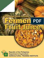 Fermented Fruit Juice