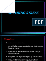 Lesson 2 - Shearing Stress