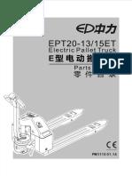 Despiece Ep ( Mb ) Hulift Novalift Ept20-13et; Ept20-15et (2014-01)