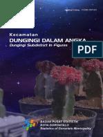 Kecamatan Dungingi Dalam Angka 2018
