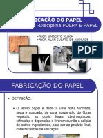 fabricação do papel