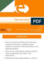 TIPO DE ENLACE QUIMICO
