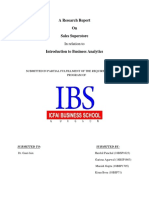 IBA-Report Sales Superstore