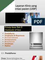 Layanan Klinis Berorientasi pada Pasien