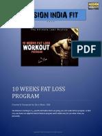MIF - 10 Weeks Fat Loss Program