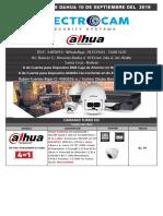 Dahua Electrocam 10 Septiembre Del 2019