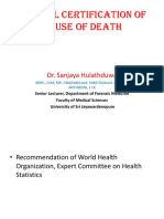 07- Medical Certification of Cause of Death