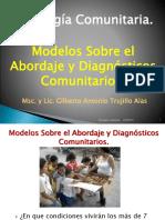 Psico-h02 Modelos de Abordaje Comunitario Diagnostico