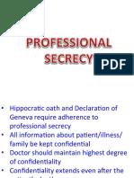 11- Professional Secrecy
