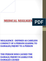 12- Medical Negligence