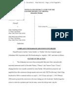 Justin Fairfax Lawsuit Complaint