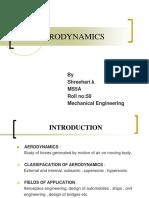 Aerodynamics seminar presetation