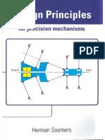 Design Principles for Precision Mechanisms