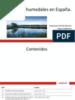 Análisis de Componentes Principales Al Estudio de 17 Humedales en España.
