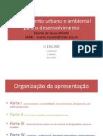 Ricardo Moretti Enurb 2015 Planej Urbano e Amb