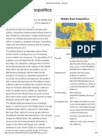 Middle East Geopolitics - Baripedia.pdf