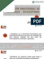 Captación Profesional de Inmuebles - Exclusividad
