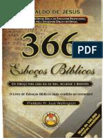 366 esboços de mensagens bíblicas.