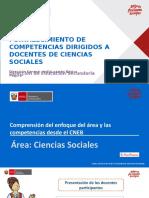 Area de Ciencias Sociales