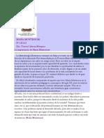 Lectura María Montessori