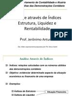 Indices Estr. Liquid e Rentabil. - T2014122