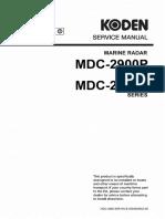 KODEN MDC-2900