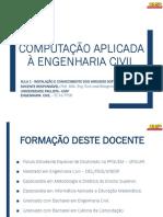 AULA 1 - INSTALAÇÃO E CONHECIMENTO DOS VARIADOS SOFTWARES AUTODESK.pdf