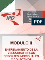 ENTRENAMIENTO DE VELOCIDAD