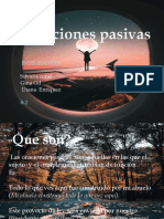 Oraciones pasivas