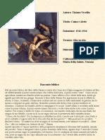 "Tiziano ""Caino e Abele"""