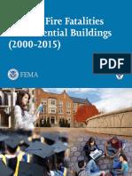 Campus Fire Fatalities Report