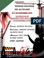 Monografia Materiales de Condtruccion