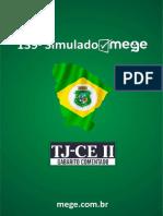 139º Simulado Mege Tjce II Gabarito Comentado 7688