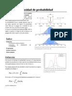 Función de Densidad de Probabilidad - Wikipedia