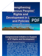 Strengthening Ips Rights and Development in Laws and Policies - By Hon Nancy Catamco (1)