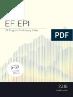 English Proficiency Index EF 2018