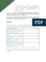 """MF1445. Caso Práctico Tema 2 """"Elaboración de una prueba objetiva de evaluación"""""""
