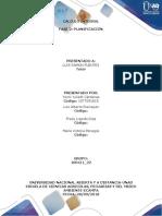 Calculo diferencial- planificación