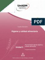 U3_HCA_141216 Higiene y calidad alimentaria