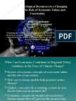Climate Change Economics Panel - Johnston