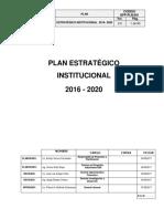 Plan estratégico institucional empres